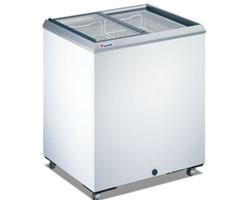 Caravell - Glass Slide Top Freezer