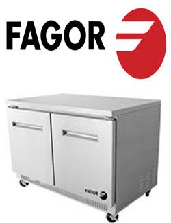 Fagor 2 door fridge